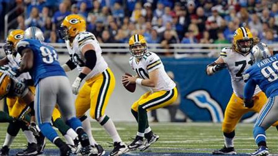 Detroit Lions snap 9-game Thanksgiving skid, beat Green Bay Packers; Aaron Rodgers out 48459