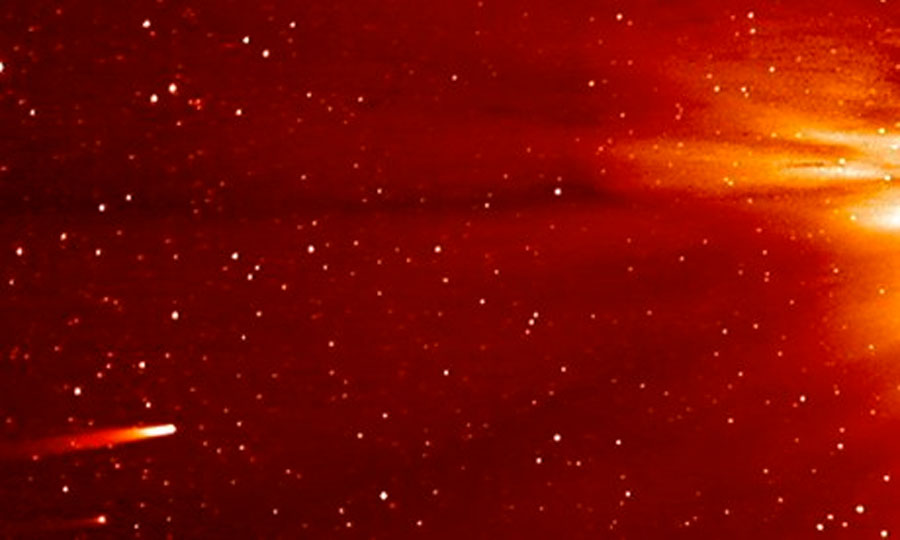 Comet Ison leaves no trace as it flies too close to the sun 48464