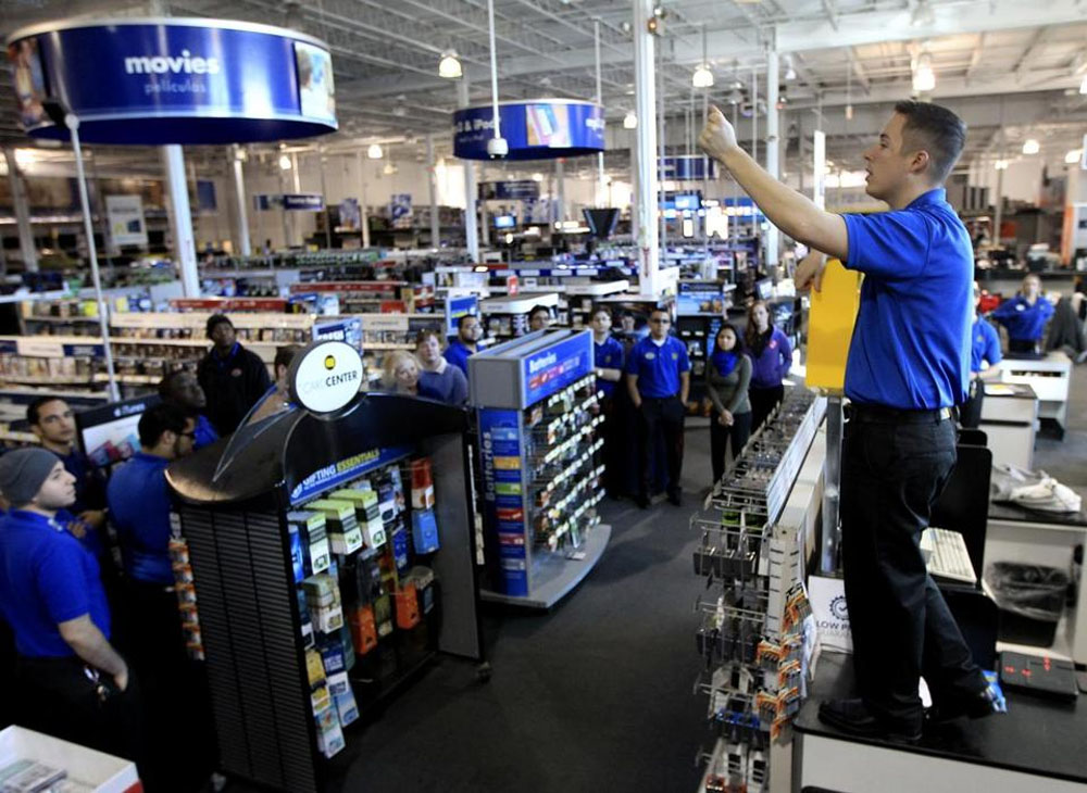Best Buy simulates Black Friday to prepare staff 48475