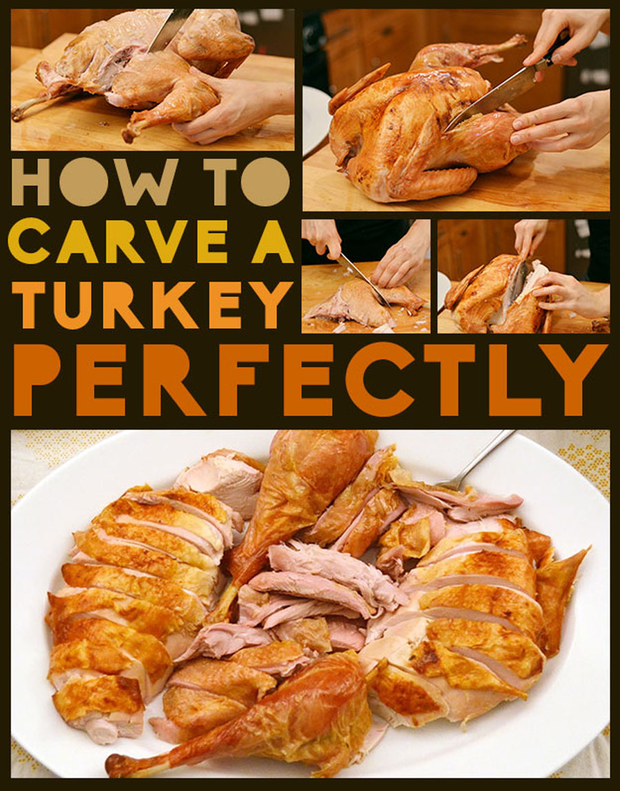 How To Carve A Turkey Perfectly 48482