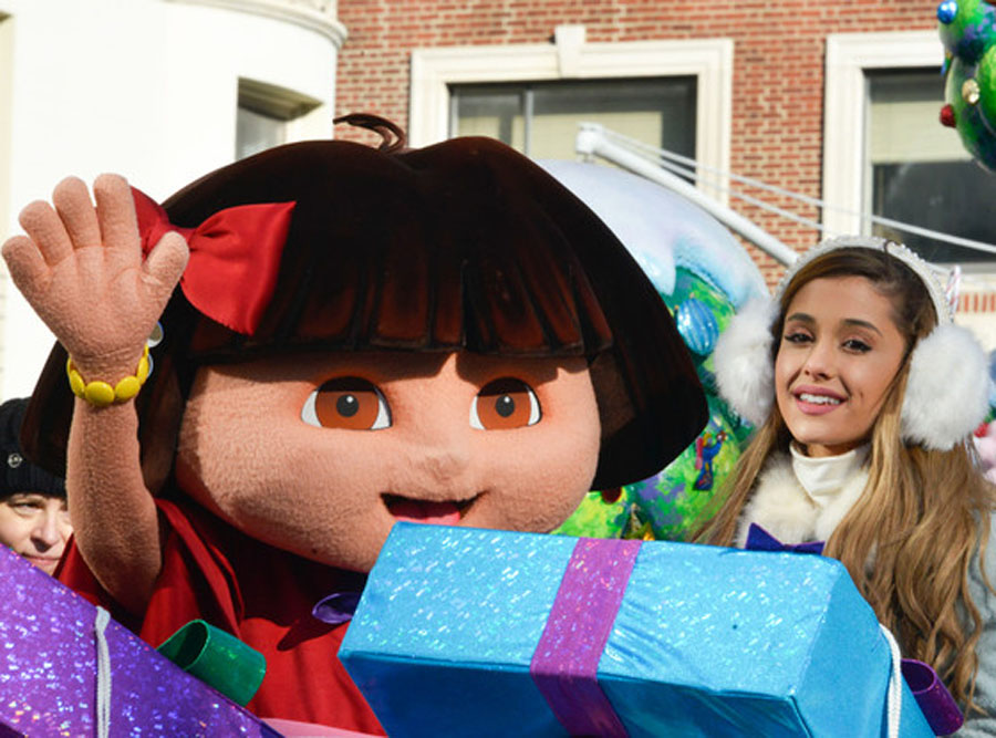 Ariana Grande, Jimmy Fallon and Austin Mahone Perform at Macy's Thanksgiving Day Parade—See the Pics! 48492