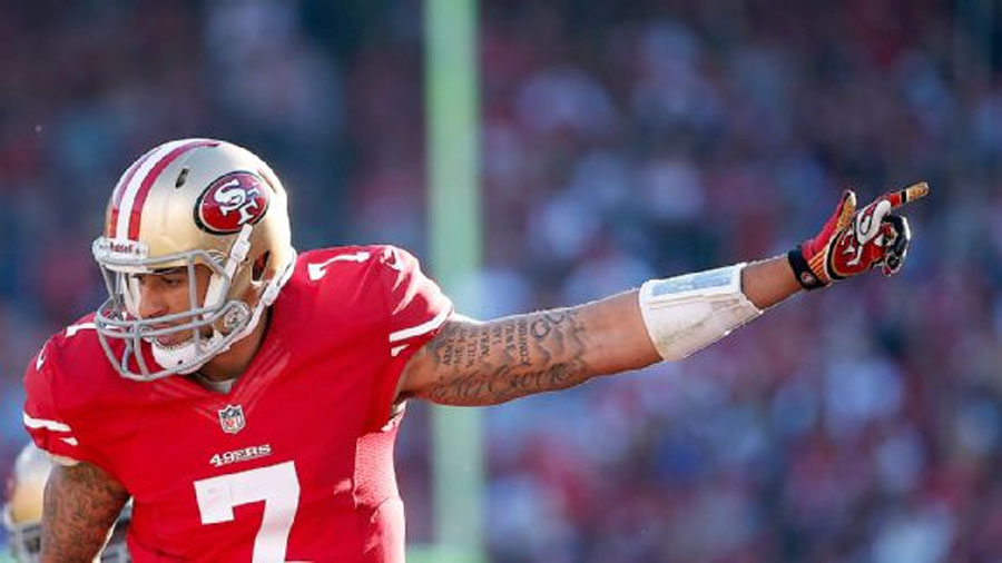 Kaepernick shows he's a strong front man 48532