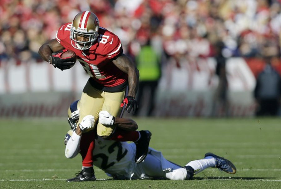Another big day for Boldin as 49ers beat Rams 48533