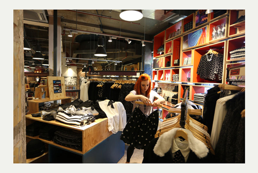 Nottingham Urban Outfitters store ready for opening 48572