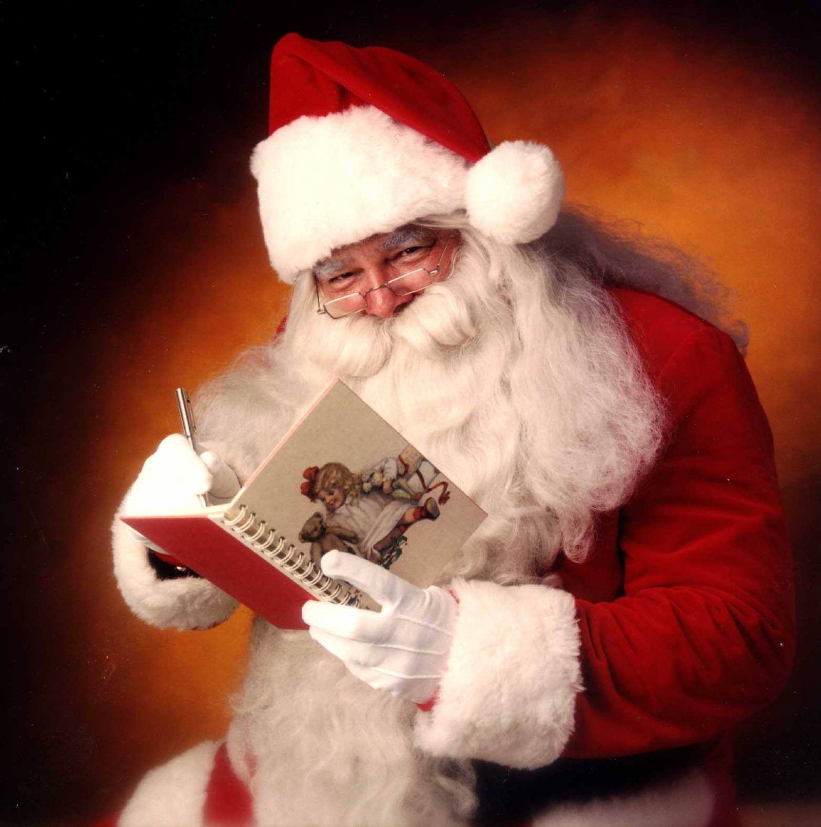 Read any book with Santa 48590