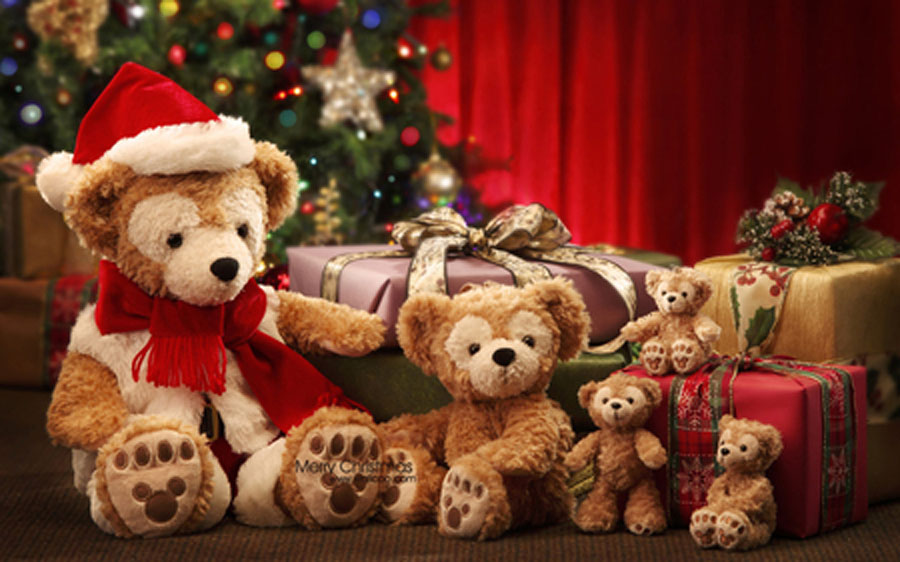 Teddy bear Christmas 48634