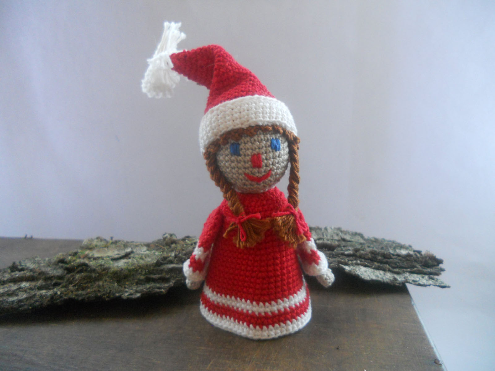 noel cute wool dolls 48650