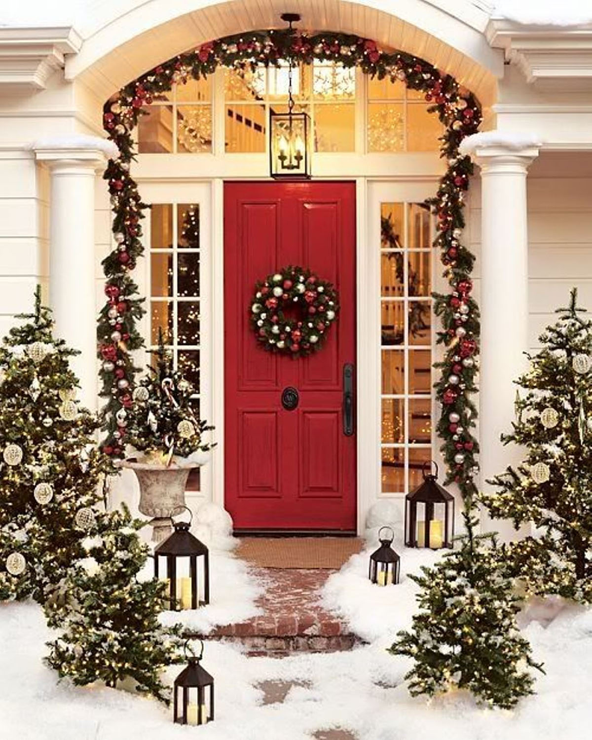 outdoor christmas decoration ideas 48668