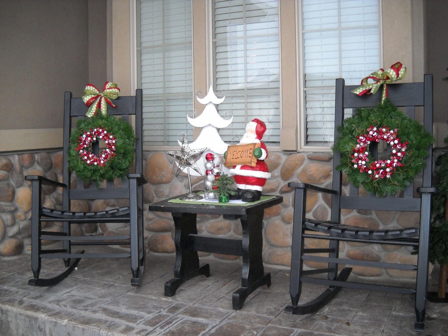 Decoration Ideas, Christmas porch 48686