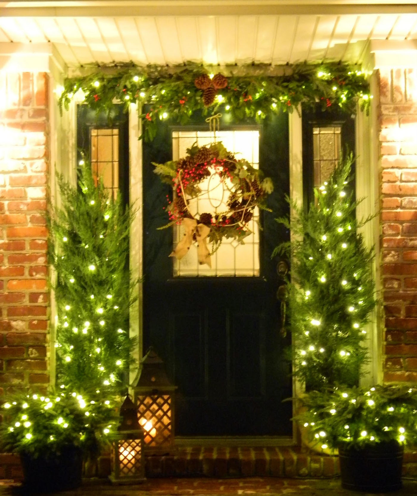good idea to decorate your doorstep 48752