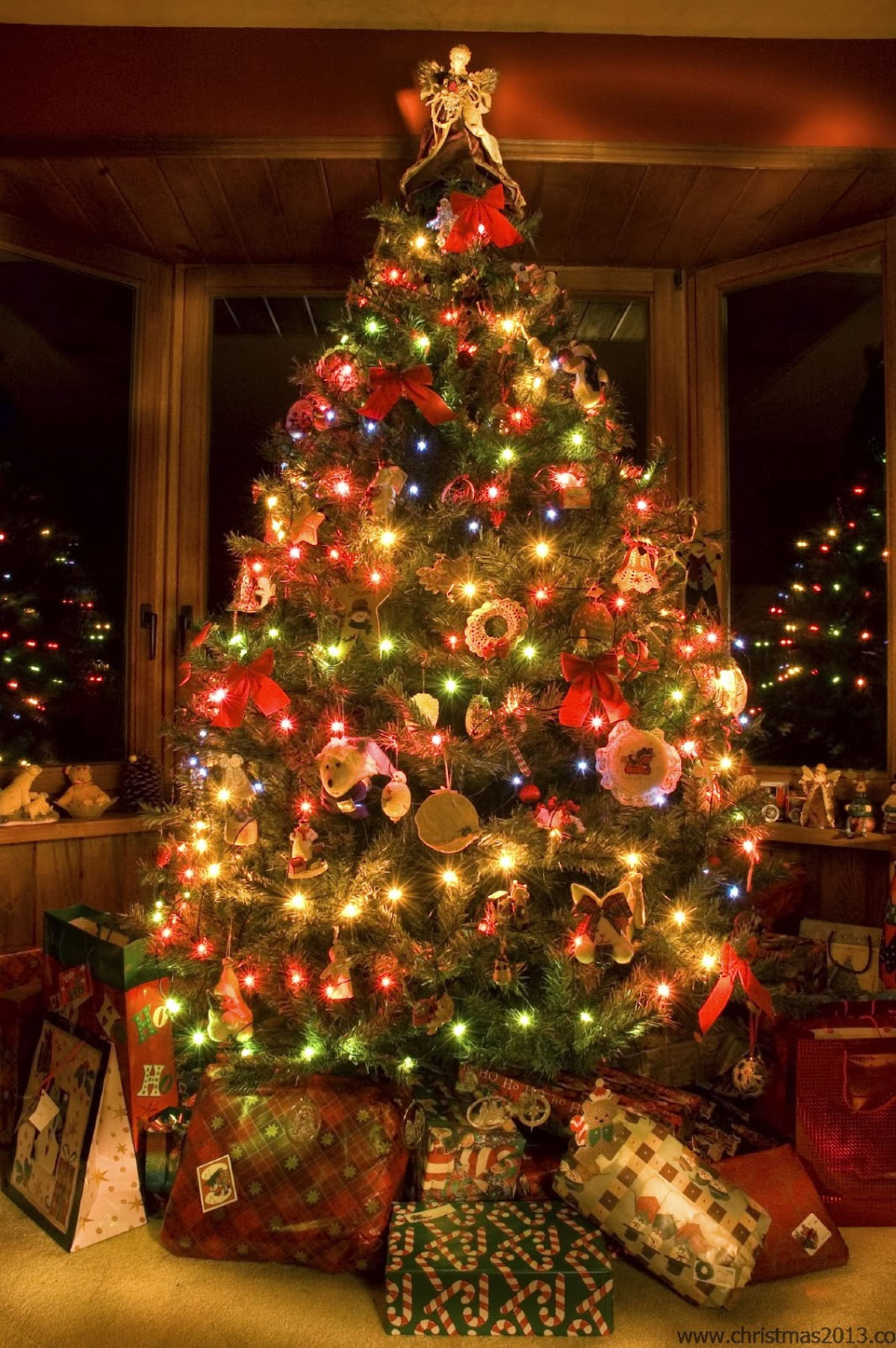 tree decorations add your home sparkling 48761