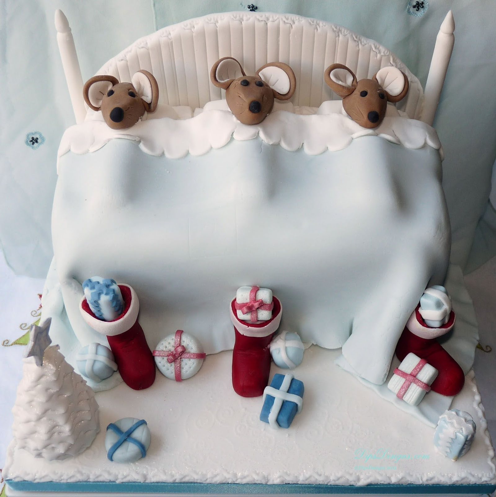 ideas on how to decorate your Christmas cake 48782