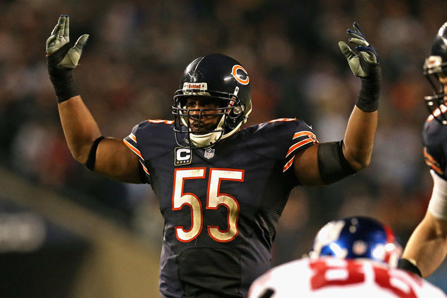 Chicago Bears Injury Report: Lance Briggs ruled out 48794