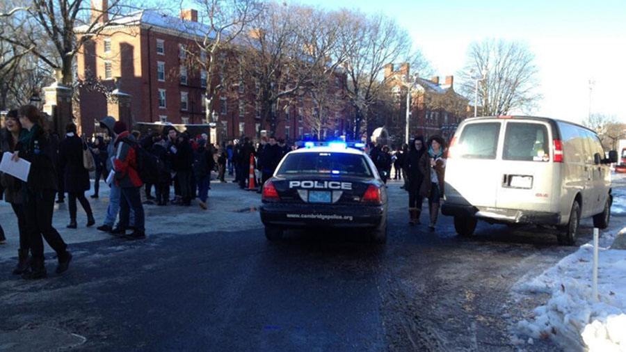 Harvard University says all buildings clear after unconfirmed reports of explosives 48824