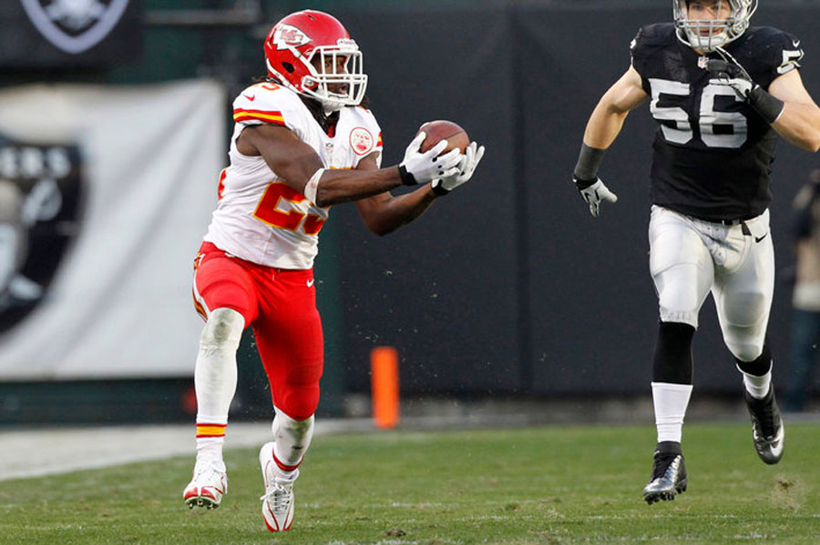 Jamaal Charles and the Chiefs had plans for a 6th touchdown 48833