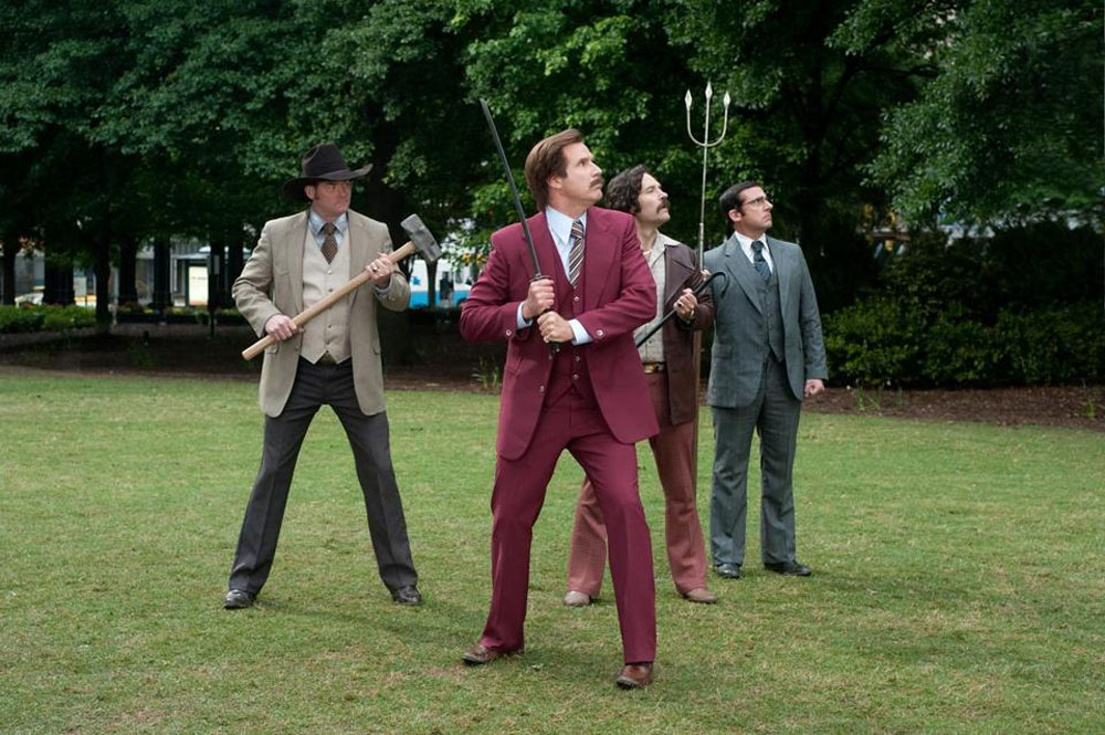 'Anchorman' sequel piles on the silliness 48865