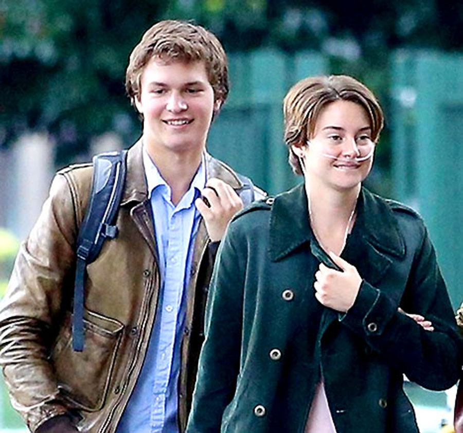 "Shailene Woodley, Ansel Elgort's Intimate Fault in Our Stars Poster Slammed For ""Offensive"" Tagline 48882"
