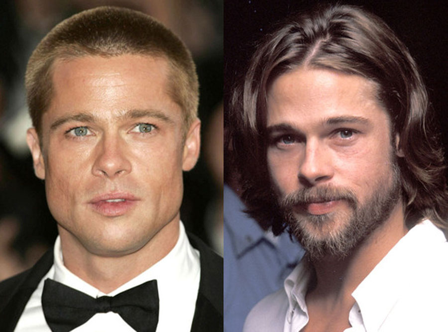 Brad Pitt Turns 50: Let's Look Back at His Hair Through the Years 48893