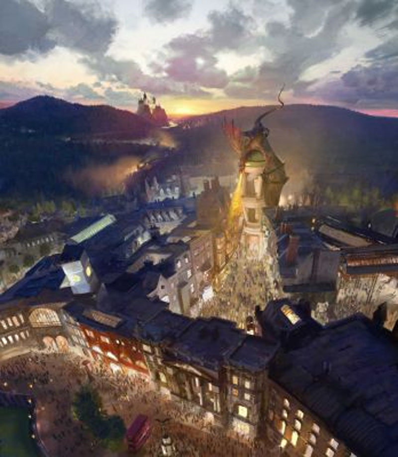 Universal Studios Orlando adding new Harry Potter area, 8 restaurants 48910