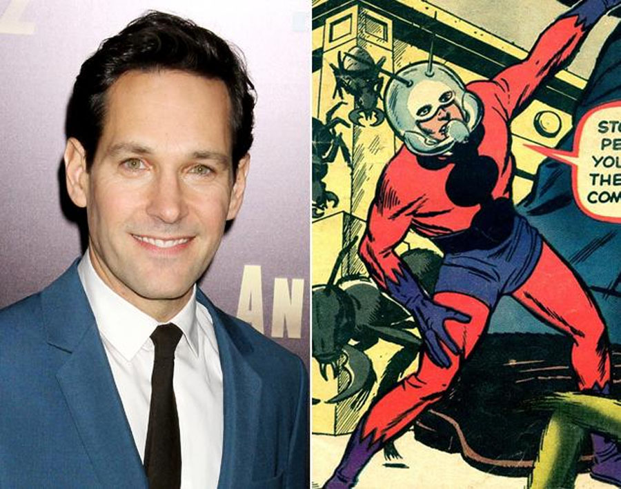 Marvel in talks with Paul Rudd to play 'Ant-Man 48933