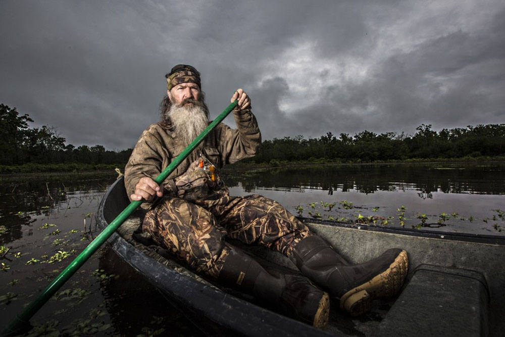 Duck Dynasty's' Phil Robertson is a former teacher with a master's degree 48956