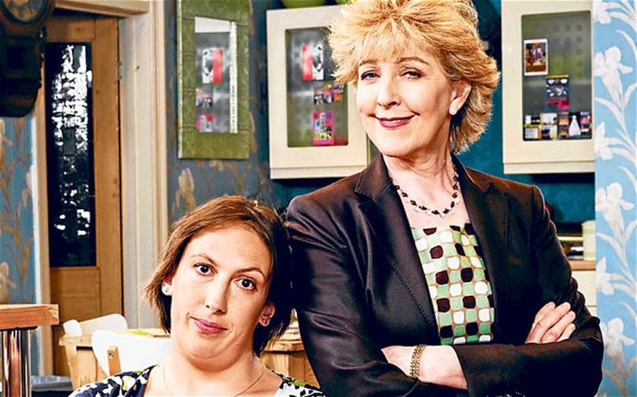Secrets of Miranda Hart's family Christmas tree 48985