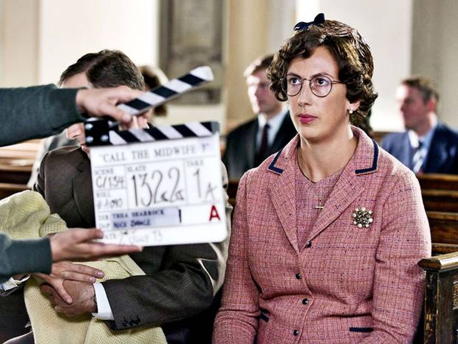 Call the Midwife Christmas special: Behind the scenes with Miranda Hart 48986