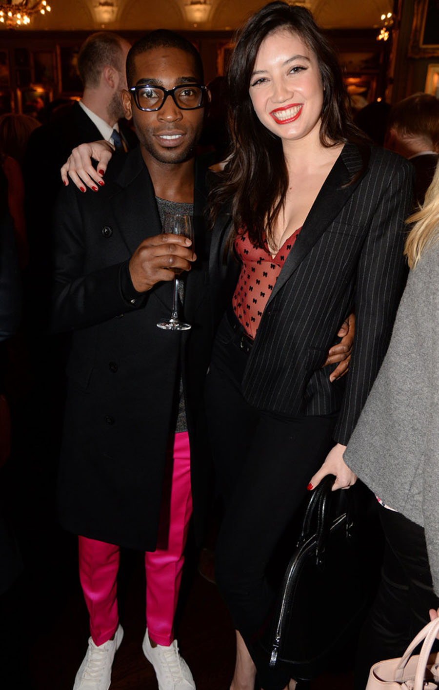 Tinie Tempah has lunch with ex-rumoured love interest Daisy Lowe 48991
