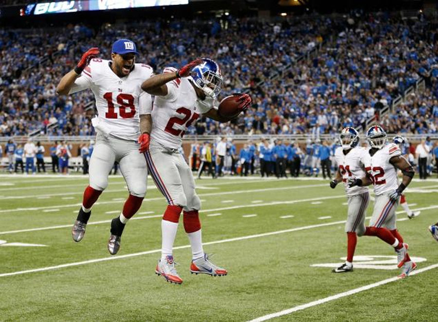 NY Giants DB Will Hill makes big play with interception return 49009