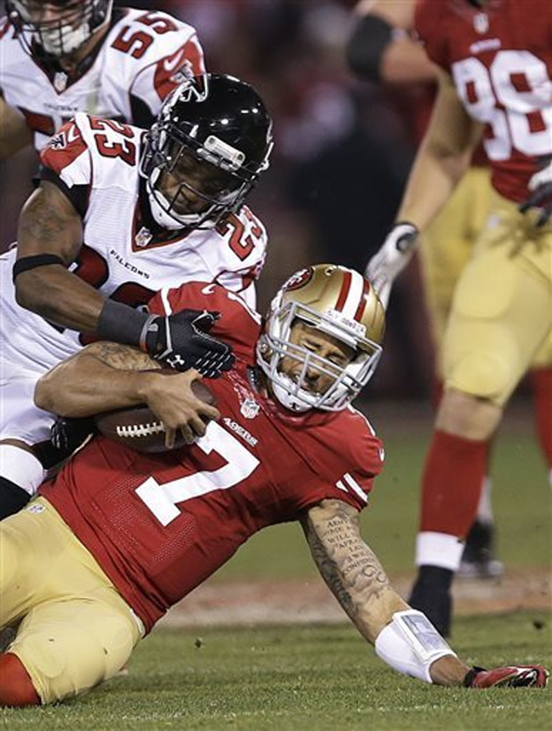 49ers beat Falcons 34-24 to clinch playoff berth 49034