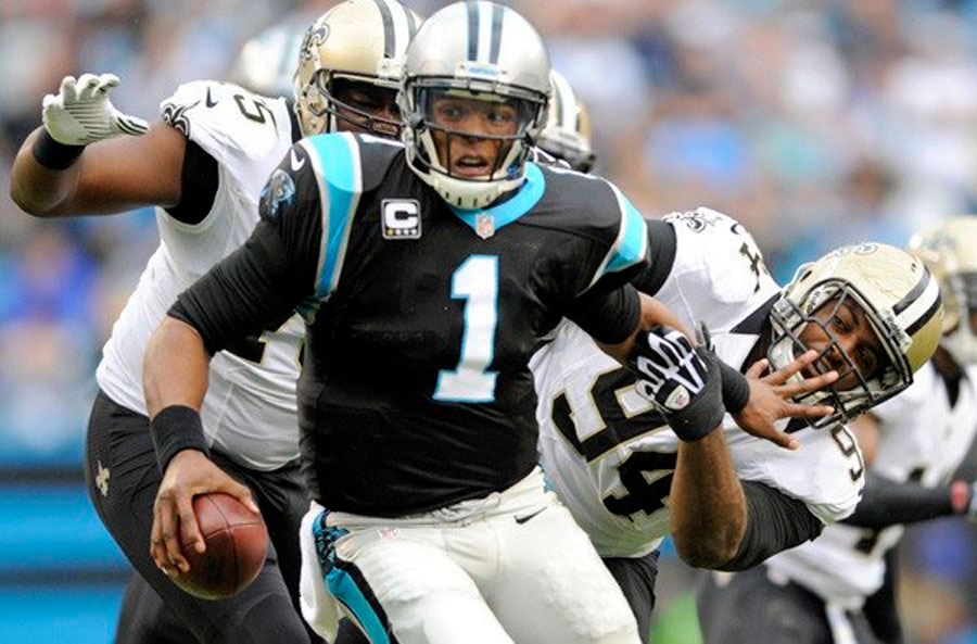Panthers score late to beat Saints; Cardinals stun Seahawks in Seattle 49043