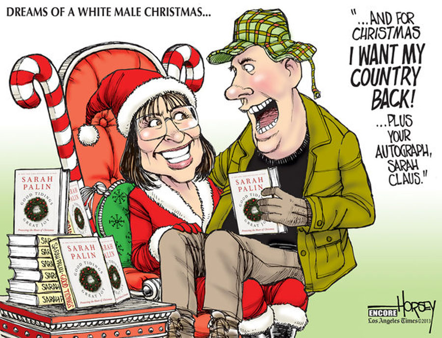 Merry Christmas, Sarah Palin -- thanks for all the laughs 49045