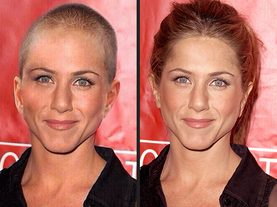 Jennifer Aniston has not Shave Her Head 49062