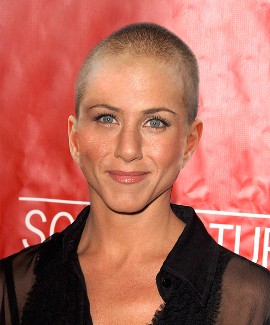 Did Jennifer Aniston Shave Her Head For Cancer? 49063