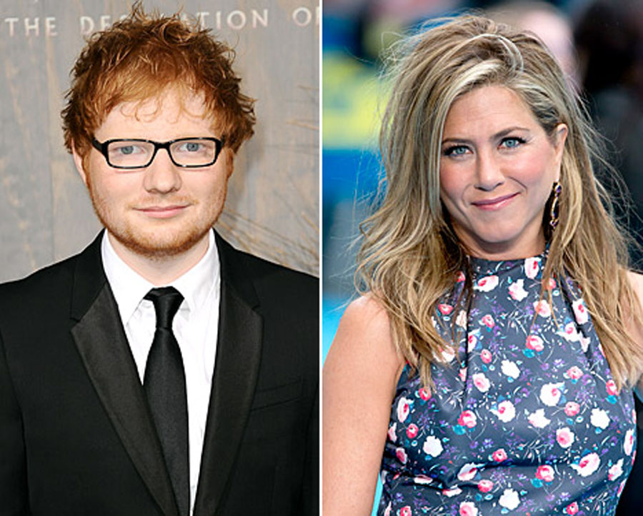 Ed Sheeran Passed Out Drunk At Jen Aniston's House, Courteney Cox, Johnny McDaid 49066