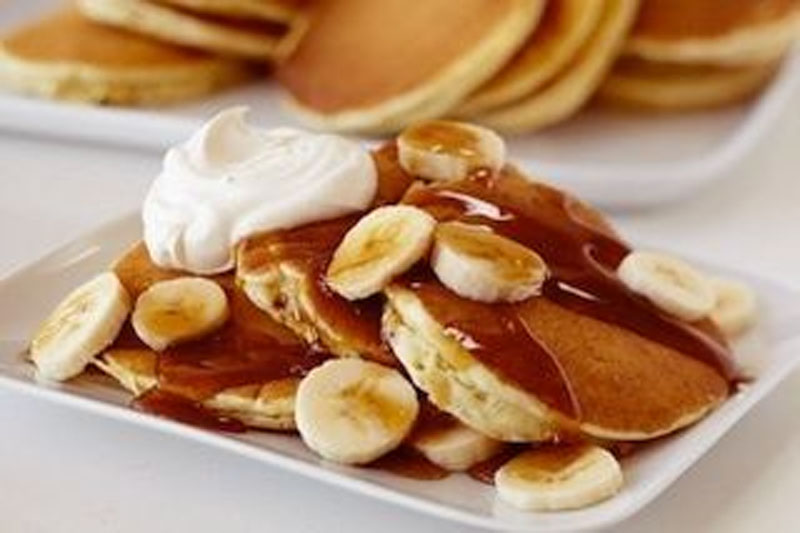 Holiday Pancakes Recipe Spiked With Egg Nog 49099