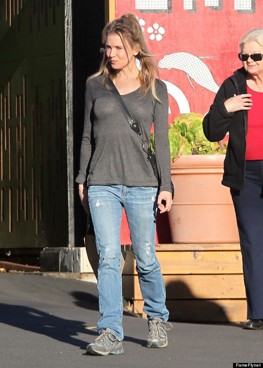 Renee Zellweger Goes Incognito Trọng Santa Monica 49217