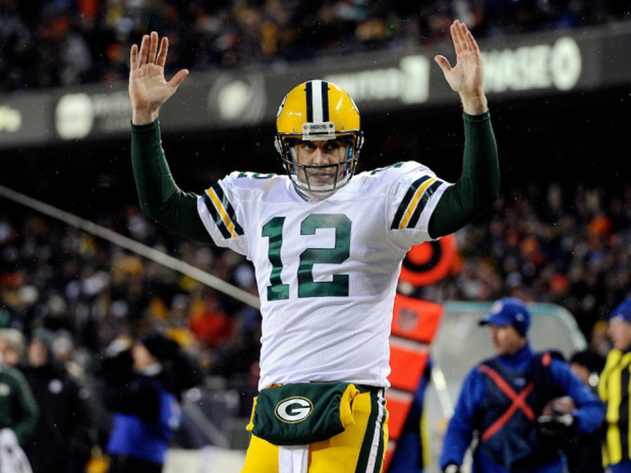 Green Bay Packers beat Chicago Bears with last-minute touchdown to claim NFC North title 49234