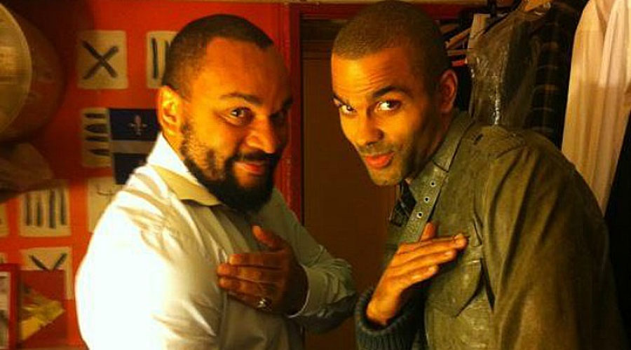 Basketball Star Tony Parker Caught Making 'Nazi' Quenelle Salute 49294