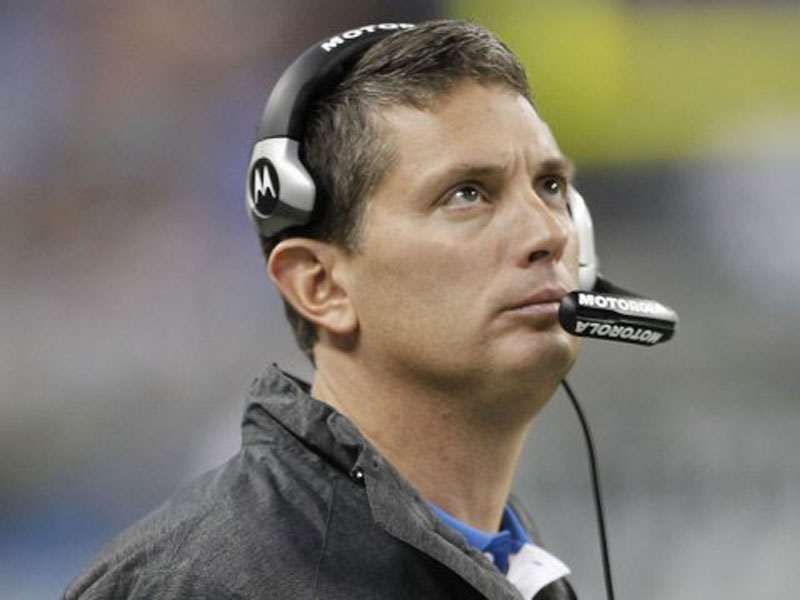 The Lions Fire Coach Jim Schwartz 49305