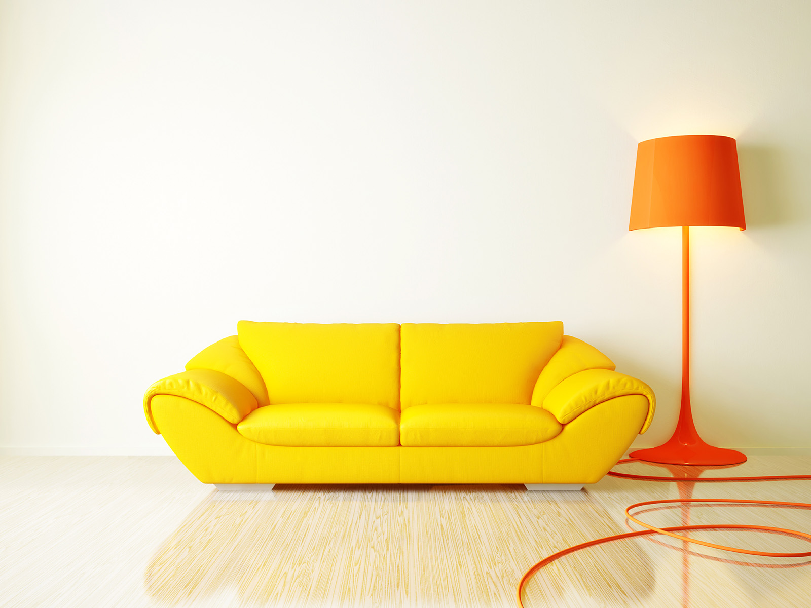 Sofa floor lamp 49357