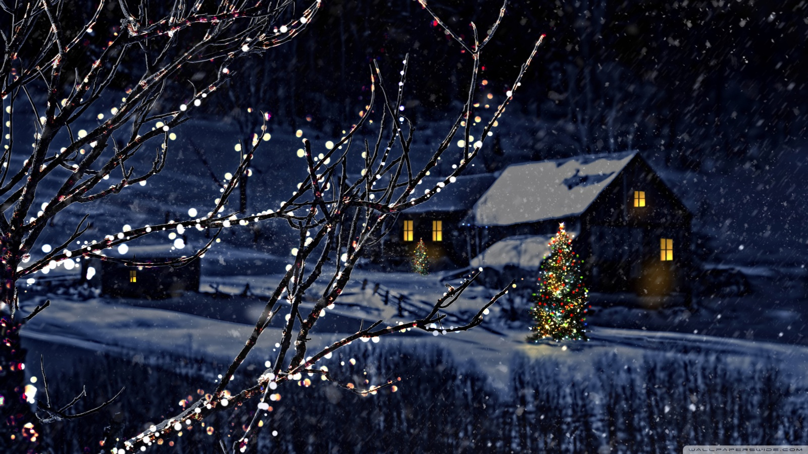 Quiet and peaceful Christmas Eve 49433
