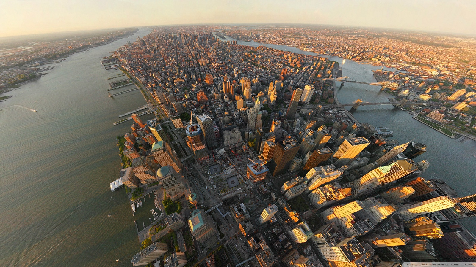 Aerial view of New York 49437