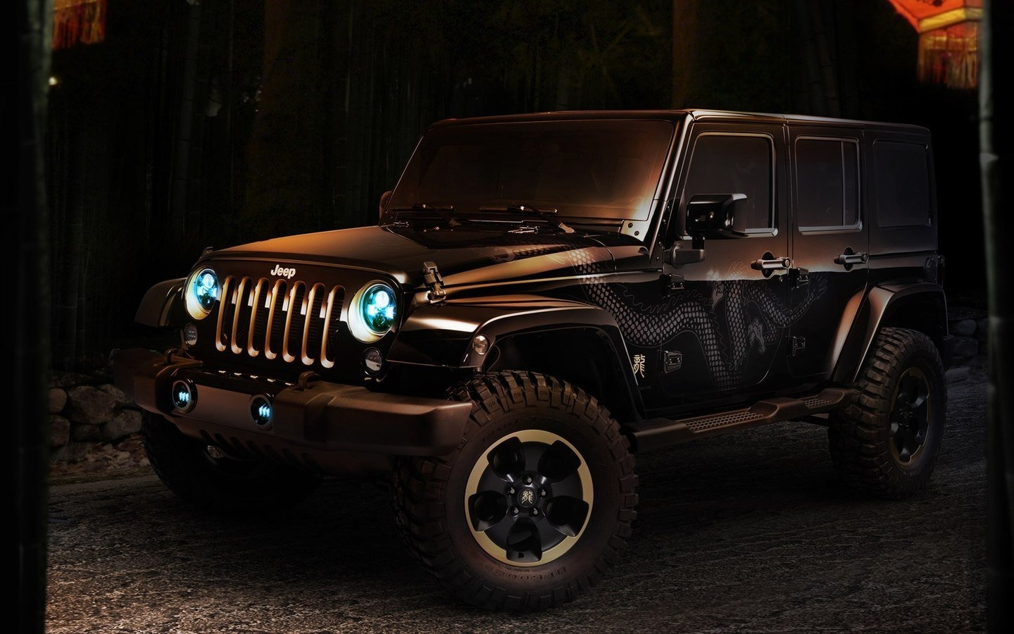 JEEP Chinese Dragon Edition HD Wallpaper 49463