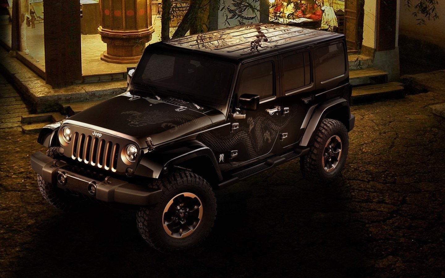 JEEP Chinese Dragon Edition HD Wallpaper 49493