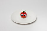 Vegetables and fruits Funny face 23273