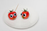 Vegetables and fruits Funny face 23398