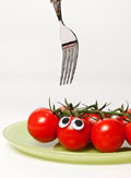 Vegetables and fruits Funny face 23471