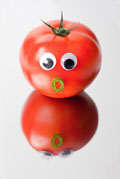 Vegetables and fruits Funny face 23564