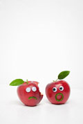 Vegetables and fruits Funny face 23817